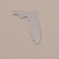 Aluminum Florida State Blank, 18g