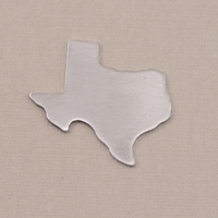 Aluminum Texas State Blank, 18g