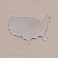 Aluminum United States Blank, 18g