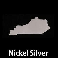 Nickel Silver Kentucky State Blank, 24g