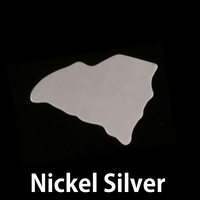 Nickel Silver South Carolina State Blank, 24g