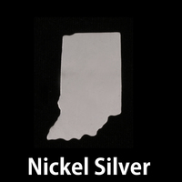 Nickel Silver Indiana State Blank, 24g