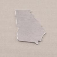 Aluminum Georgia State Blank, 18g