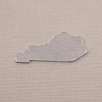 Aluminum Kentucky State Blank, 18g