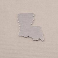Aluminum Louisiana State Blank, 18g