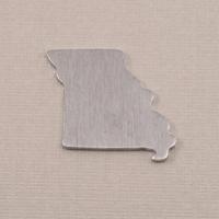 Aluminum Missouri State Blank, 18g