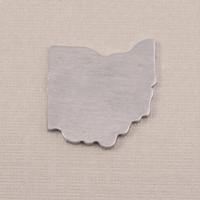 Aluminum Ohio State Blank, 18g