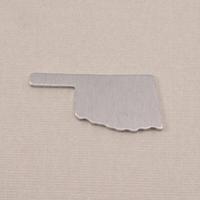 Aluminum Oklahoma State Blank, 18g