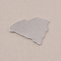Aluminum South Carolina State Blank, 18g
