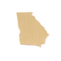 Brass Georgia State Blank, 24g