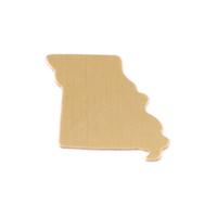 Brass Missouri State Blank, 24g