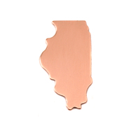 Copper Illinois State Blank, 24g