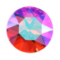 Swarovski Crystal - Rose Glacier Blue 27mm