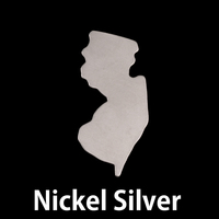Nickel Silver New Jersey State Blank, 24g