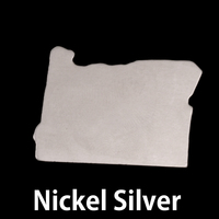 Nickel Silver Oregon State Blank, 24g
