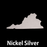 Nickel Silver Virginia State Blank, 24g