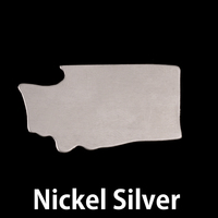 Nickel Silver Washington State Blank, 24g