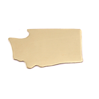Brass Washington State Blank, 24g