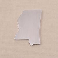 Aluminum Mississippi State Blank, 18g