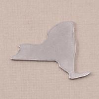 Aluminum New York State Blank, 18g