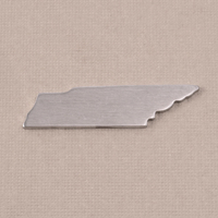 Aluminum Tennessee State Blank, 18g