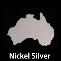 Nickel Silver Australia Blank, 24g
