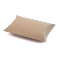 Gift Box - Pillow - Brown