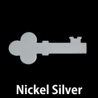 Nickel Silver Solid Key, 24g