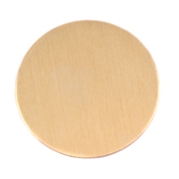 "Brass 1.25"" (32mm) Circle, 24g"