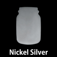 Nickel Silver Mason Jar, 20g