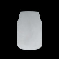 Sterling Silver Mason Jar, 24g