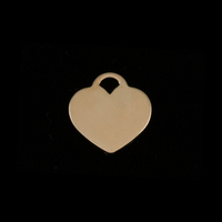 "Gold Filled Small ""Tiffany Style"" Heart, 24g"