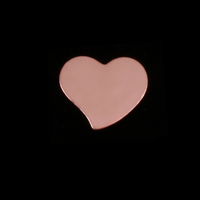Rose Gold Filled Small Stylized Heart, 24g