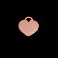 "Rose Gold Filled Small ""Tiffany Style"" Heart, 24g"