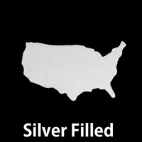Silver Filled United States Blank, 24g