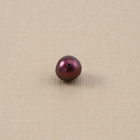 Purple Maroon Fresh Water Pearl, 5.5mm