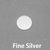 "Fine Silver 3/8"" (9.5mm) Circle, 20g"