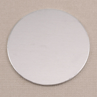 "Aluminum 1.5"" (38mm) Circle, 18g"