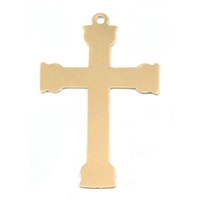 Brass Large Fancy Cross, 24g