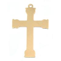 Brass Large Fancy Cross, 24g