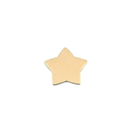 Brass Rounded Star, 24g