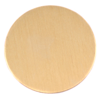 "Brass 1 7/8"" (47.63mm) Circle, 24g"