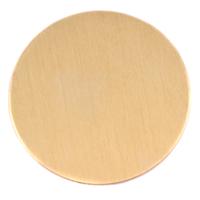 "Brass 1 7/8"" (47.63mm) Circle, 24g"