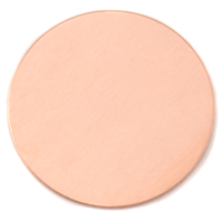 "Copper 1 7/8"" (47.63mm) Circle, 24g"