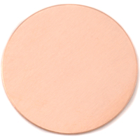 "Copper 2"" (50.8mm) Circle, 24g"