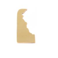 Brass Delaware State Blank, 24g