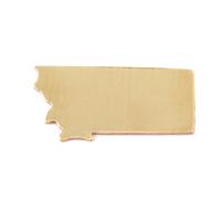 Brass Montana State Blank, 24g