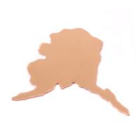 Copper Alaska State Blank, 24g