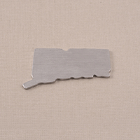 Aluminum Connecticut State Blank, 18g