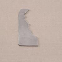 Aluminum Delaware State Blank, 18g